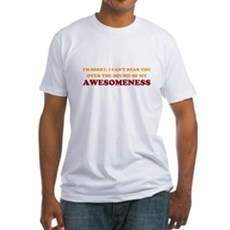 Sound of Awesomeness Fitted T-Shirt