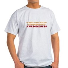 Sound of Awesomeness Light T-Shirt