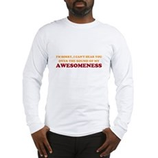 Sound of Awesomeness Long Sleeve T-Shirt