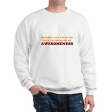 Sound of Awesomeness Sweatshirt
