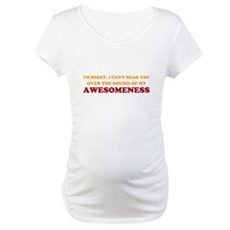 Sound of Awesomeness Maternity T-Shirt