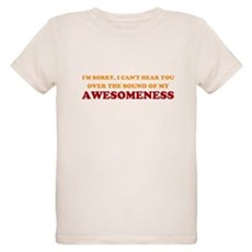 Sound of Awesomeness Organic Kids T-Shirt