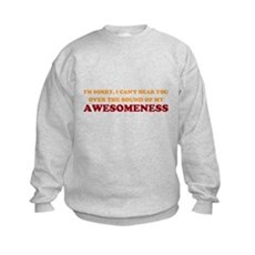 Sound of Awesomeness Kids Sweatshirt