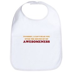 Sound of Awesomeness Bib