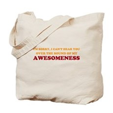 Sound of Awesomeness Tote Bag