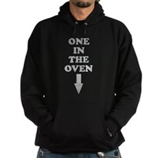 One In The Oven Dark Hoodie