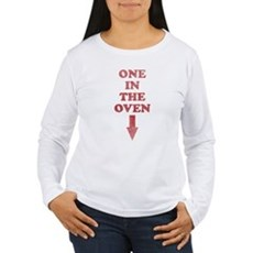 One In The Oven Womens Long Sleeve T-Shirt