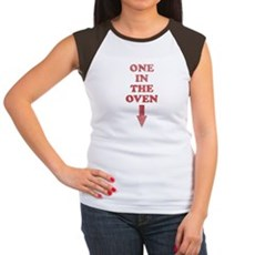 One In The Oven Womens Cap Sleeve T-Shirt