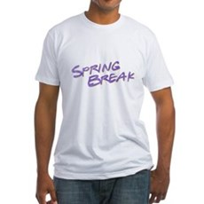 Spring Break Fitted T-Shirt