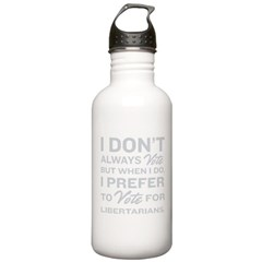 Prefer Libertarians Stainless Water Bottle 1.0L