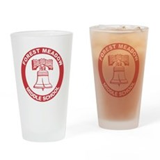 Forest Meadow Middle School Pint Glass