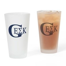 Geek House Fraterntiy (GEK) Pint Glass