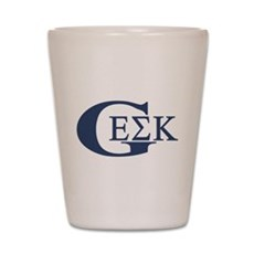 Geek House Fraterntiy (GEK) Shot Glass