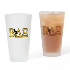 Beta House Fraternity Drinking Glass