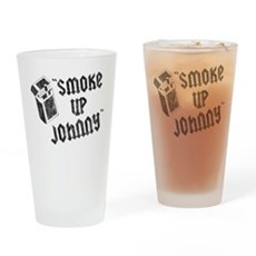 Smoke Up Johnny Pint Glass
