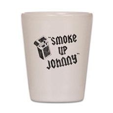 Smoke Up Johnny Shot Glass