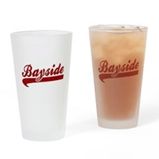 Bayside Tigers (Distressed) Pint Glass