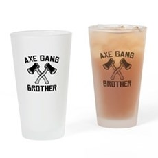 Axe Gang Brother Pint Glass