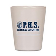 P.H.S Physical Education Shot Glass