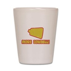 SNL More Cowbell Shot Glass