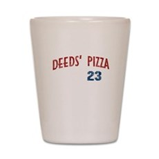 Deeds' Pizza Shot Glass