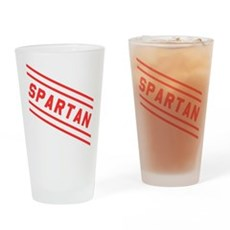 Spartans SNL Pint Glass
