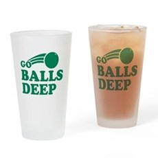 Go Balls Deep Pint Glass