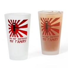 You Haf Discraced My Famiry Pint Glass