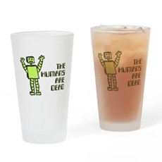 The Humans Are Dead Pint Glass