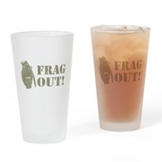 Frag Out! Pint Glass