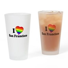 I Love [Heart] San Francisco Pint Glass