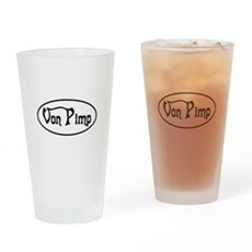 Von Pimp Pint Glass
