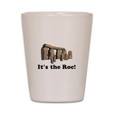 It's the Roc! Shot Glass
