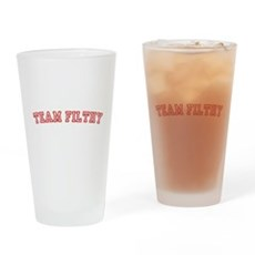 Team Filthy Pint Glass