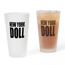 New York Doll Pint Glass