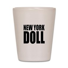New York Doll Shot Glass