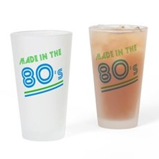 Made in the 80's Pint Glass