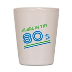 Made in the 80's Shot Glass
