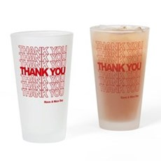 Thank You Bag Pint Glass