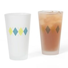 Argyle Business Casual Pint Glass