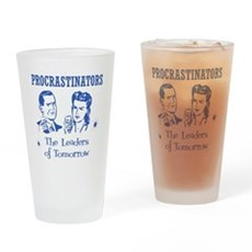 Procrastinators: Leaders of T Pint Glass