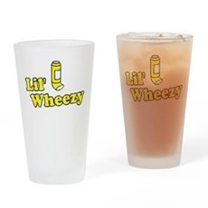 Lil' Wheezy Pint Glass