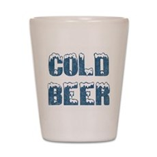 Cold Beer Shot Glass