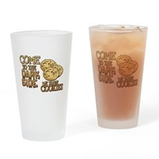 Come To The Dark Side Pint Glass