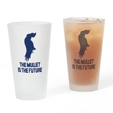 The Mullet is the Future Pint Glass