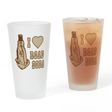 I Love Road Soda Pint Glass