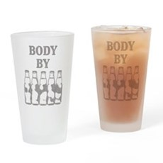 Body By Beer Pint Glass