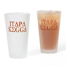 ITAPA KEGGA (Greek) Pint Glass
