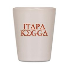 ITAPA KEGGA (Greek) Shot Glass