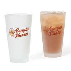 Cougar Hunter Pint Glass